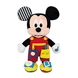 Clementoni 17224 Disney Baby Mickey Abilities Plush