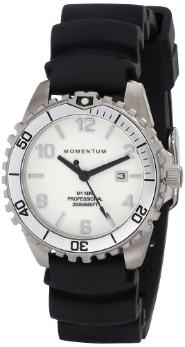 Momentum Women's 1M-DV07WS1B M1 Mini Analog Display Japanese Quartz Black Watch