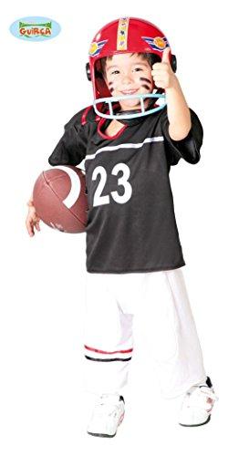 Football Spieler - Kostüm für Kinder Gr. 110 - 146, (Kostüme Jungen Für Spieler Football)