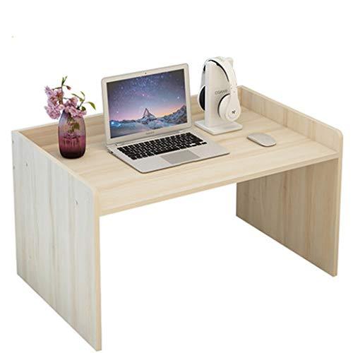 YQCSLS Studenten-Schlafsaal-fauler Behälter-Bett-Schreibtisch mit der Tastatur, die mehrdimensionalen Gitter-Speicher-Speicher-Desktop-Computer-Schreibtisch pumpt -