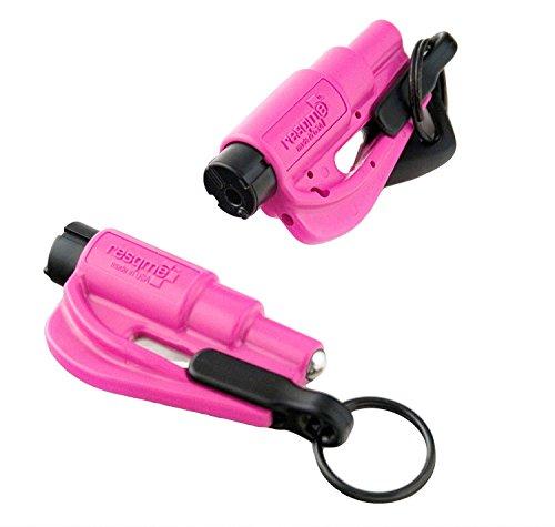 ResQ Mich 98730Werkzeug Sicherheitsschuhe in Schlüsselanhänger 2in1, Rosa