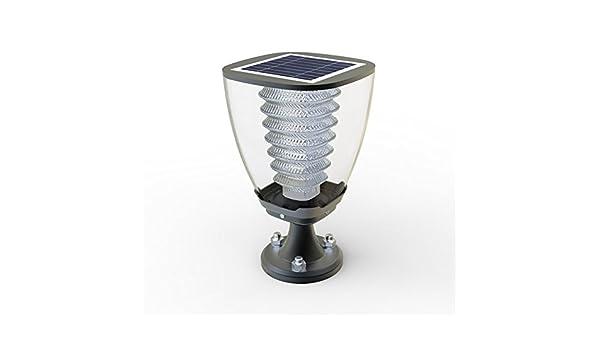 Lampada lampioncino da giardino a led luce calda con pannello