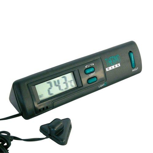 Preisvergleich Produktbild Carpoint 1121211 Innen/aussen Thermometer schwarz
