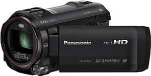 Panasonic HC-V757EG-K Camcorder (17,5 Megapixel, 21-fach opt. Zoom, 7,6 cm (3 Zoll) LCD-Display, Full-HD, HDMI, SD/SDHC/SDXC-Kartenslot) schwarz