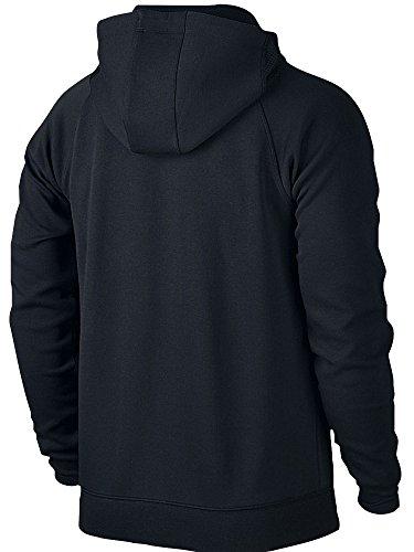 Nike Aj Lite F/Z Fleece Hoodie Sweatshirt Linie Michael Jordan für Herren schwarz