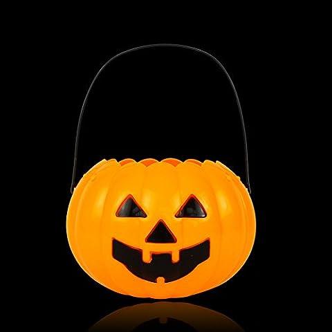 Secchio di zucca di Halloween/ harvest festival prop/Toy/ attività di