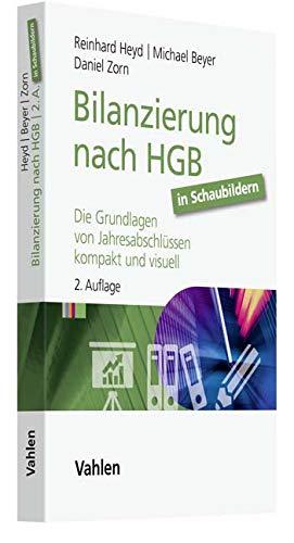 Bilanzierung nach HGB in Schaubildern: Die Grundlagen von Jahresabschlüssen