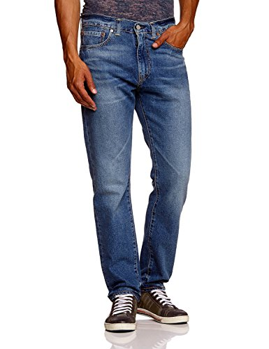 Levis Herren Jeans, Herrenjeans 508 Loose, Low Fit, Midblue 508.04.88, Größe:W27/L30