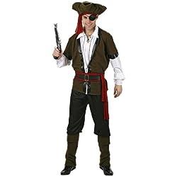 Disfraz para hombre de pirata, M-L.