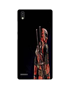 AANADI - Hard Back Case Cover for Huawei Ascend P6 - Superior Matte Finish - HD Printed Cases and Covers
