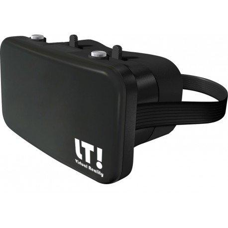 LT! Virtual Reality LTRVP Dispositivo de visualización montado en un Casco - Dispositivos de visualización montados en Cascos (Smartphone-Based, Negro, Botones)