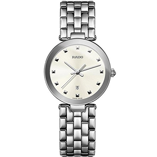 Rado Women's Florence 28mm Steel Bracelet & Case Quartz Analog Watch R48874023