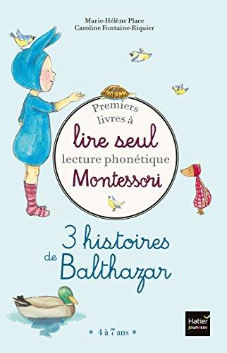 Coffret Premiers livres à lire seul - 3 histoires de Balthazar - niveau 2: Lecture phonétique