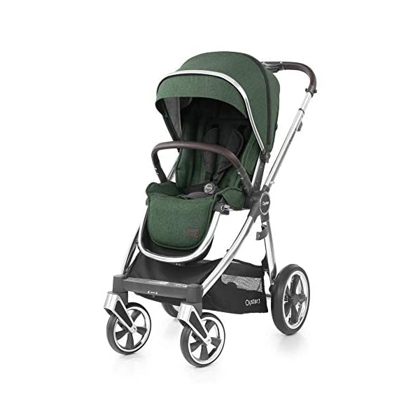 Babystyle Oyster3 Pushchair Mirror/Alpine Green Babystyle  1