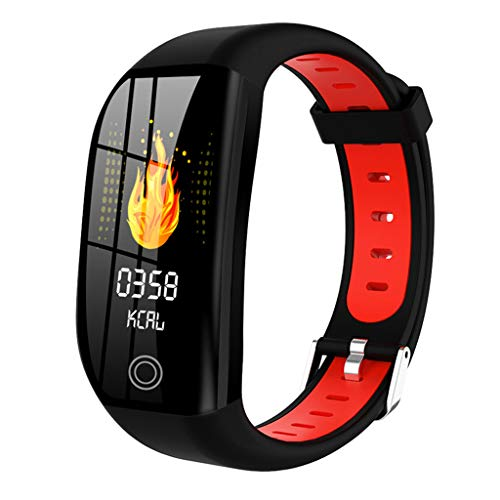 kashyk Gesundheits & Fitness Smartwatch mit Herzfrequenzmessung, Tage Akkulaufzeit & IP68 Wasserabweisend Blutdruckmessgerät Mode Fitness Tracker für Damen Herren in 3 Farben Schrittzähler Uhr -