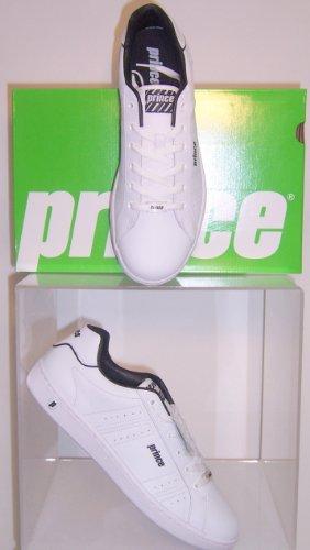 Prince  Prince Classic White-Black Herren Schuhe Weiß, Loisirs homme Weiß (Weiß-Schwarz)
