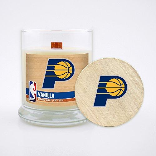Worthy Promotional würdiger Werbe NBA Washington Wizards 43974Sports Fan Home Decor, 8oz, Klar, Unisex, NBA-Ind-CNDL-VNLA, Vanille, 227 g