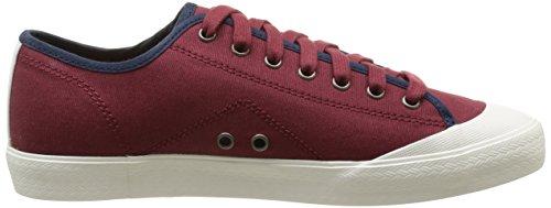 Le Coq Sportif Estoril Cvs Bbr, Baskets mode mixte adulte Rouge (Ruby Wine)