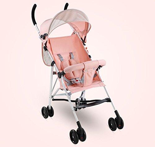 &Klappwagen Kinderwagen Leichter Regenschirm Portable Folding Einfache Babywagen Kinderwagen Mini Kinder Trolley (Farbe : 2#)