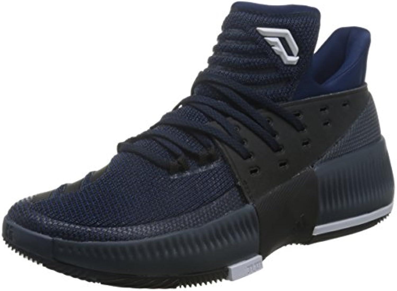 adidas D Lillard 3 - Zapatillas de baloncesto para Hombre, Azul - (AZUMIS/NEGBAS/FTWBLA) 40 2/3  -
