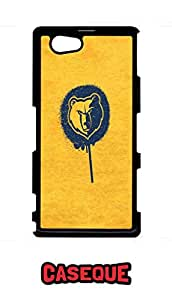 Caseque The Yellow Lion Back Shell Case Cover for Sony Xperia Z1 Compact