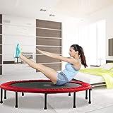 SJZC Trampolin Indoor Zuhause Trampoline Fitness SportgeräT Fitnessgeraet Jump Mini