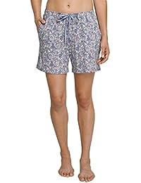 Schiesser Damen Schlafanzughose Mix & Relax Jerseyhose Kurz