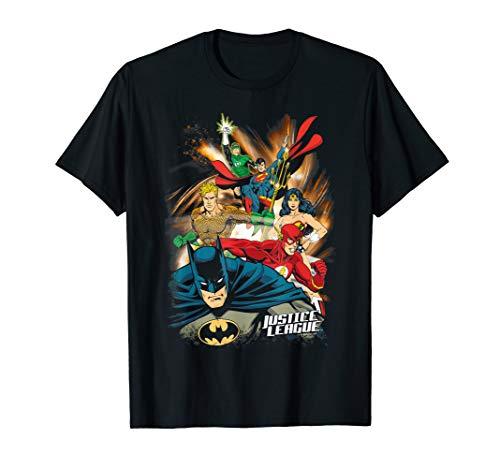 Justice League Starburst T Shirt -