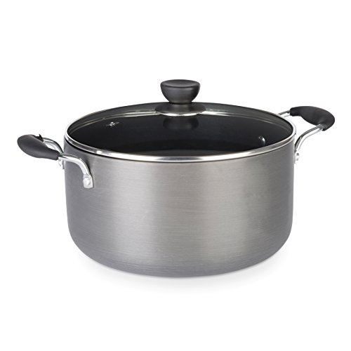 zinel-non-stick-stockpot-casserole-with-hard-anodised-induction-base-grey-26cm