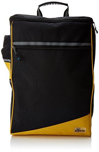 Ability Superstore Tasche Wheelyscoot mit Krückenhalterung, für Rollstühle/Elektromobile, Schwarz/Gelb