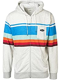 Rip Curl Retro Fleece Sweat Homme, Blanc