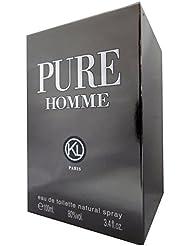 Pure Homme POUR HOMME par Karen Low - 100 ml Eau de Toilette Vaporisateur