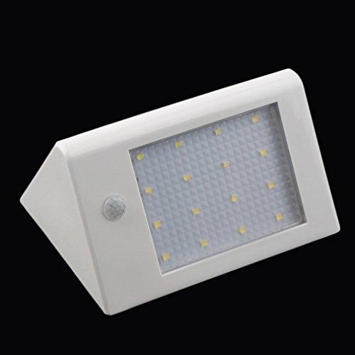 Lampe Solaire, Tsing 16 LED Luminaire Mural 3.5w Détecteur de ...
