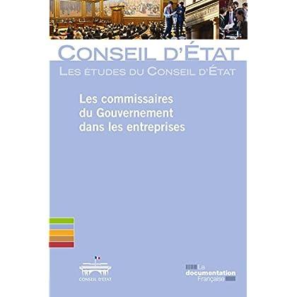 Les commissaires du Gouvernement dans les entreprises (Les études du Conseil d'Etat)