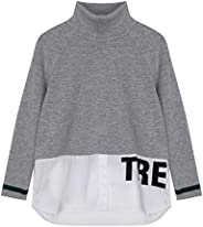 GULLIVER Suéter de Punto Cuello Alto para Niña Sweater Manga Larga
