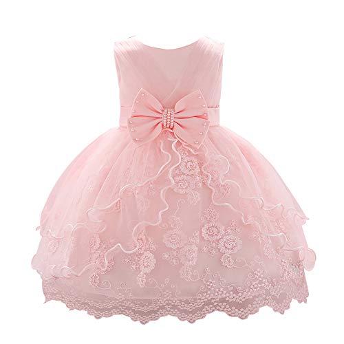 0b35d6ac8 YFCH Vestido de Tul Princesa con Lazo para Bebé Niñas Vestido de ...