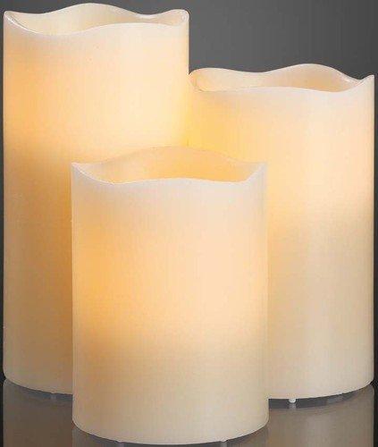 Hellum 571950a, lámpara, Cristal, 3W, A55, color blanco, 10x 15x 20cm