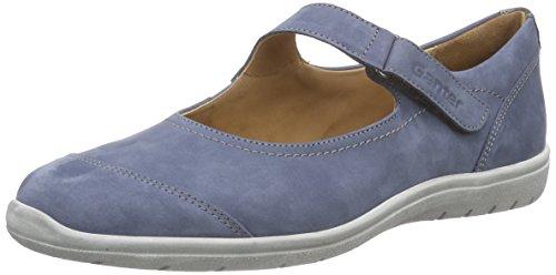 Ganter Gill, Weite G, Ballerines Fermé femme bleu (jeans/antrazit 3462)