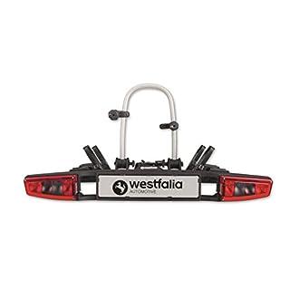 Westfalia bikelander Fahrradträger für Anhängerkupplung – Zusammenklappbarer Kupplungsträger für 2 Fahrräder – E-Bike geeigneter Universal-Radträger mit 60kg Zuladung