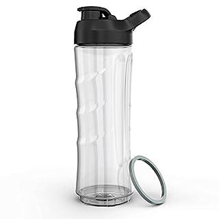 Homgeek Bouteille de Mini blender 600ml avec Couvercle sans BPA