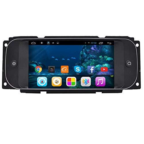 TOPNAVI Android 7.1 Stéréo Automatique pour Chrysler Cruiser 2006 2007 2008 2009 2010 2010 2011 Autoradio Navigation GPS Stéréo WiFi 3G RDS Lien de rétroviseur BT