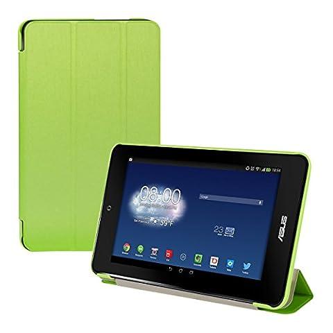 kwmobile Hülle für Asus Memo Pad HD 7 - Smart Cover Case Tablet Schutzhülle Kunstleder - Ultra Slim Tabletcase Grün