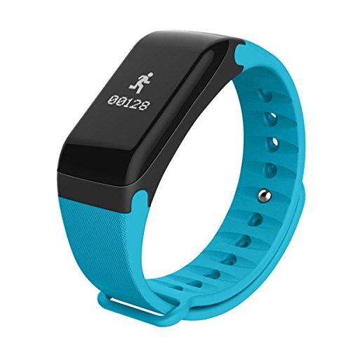 Generic R3Smart Armband Fitness Tracker mit Herzfrequenz Monitor Call erinnern Wireless Activity Tracker Pedometer für Android iOS Handy