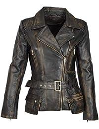 noch nicht vulgär Luxus Gratisversand Suchergebnis auf Amazon.de für: Vintage Lederjacke - Damen ...