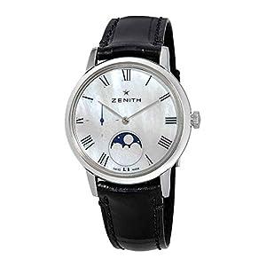 Zenith 03.2320.692/81.C714 - Reloj de Pulsera para Mujer (Esfera de nácar, automático, Fase Lunar), Color Blanco 1