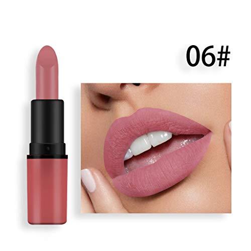 Cosmétiques Matte Et Couleur De Potiron Bean Paste Lip Solid Gloss Rouge À Lèvres Long Last Cosmetics (F)