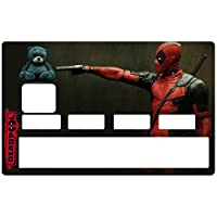 DECO-IDEES Credit card sticker, DEADPOOL - Personalize Your Credit Card Visa or MasterCard with These Removable Stickers