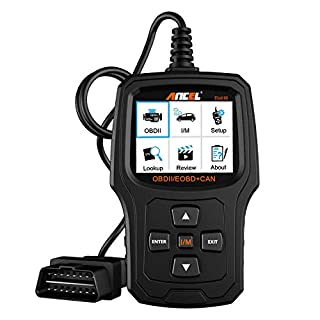 ANCEL EU410 OBD II Automotive Fehlerausleser zum Fahrzeug Prüfen Motor Licht Diagnosegerät Auto OBD2 Scanner mit I/M Bereitschaft