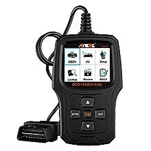 ANCEL EU410 Renforcé Lecteur de Code Défauts du Moteur pour les Véhicules en Diesel et Essence suivant le Protocole OBD2 Scanner Outils Diagnostics Éteindre le Témoin d'Alerte du Moteur