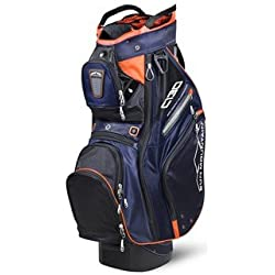 Sun Mountain C130 Sac de Golf Mixte Adulte, Noir/Marine/Orange